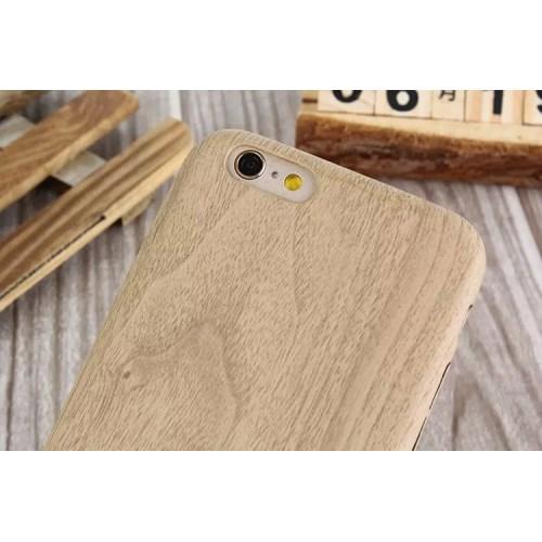 Coque iPhone 6 6s souple similicuir décor bois  onlyiphone ~ Poids Volumique Du Bois