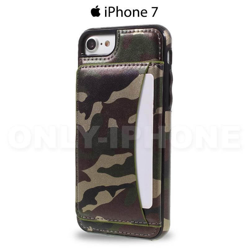 Coque iPhone 7 Camouflage arriere