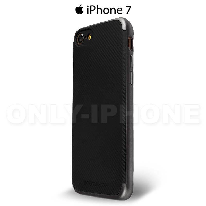 Coque iPhone 7 carbone noir