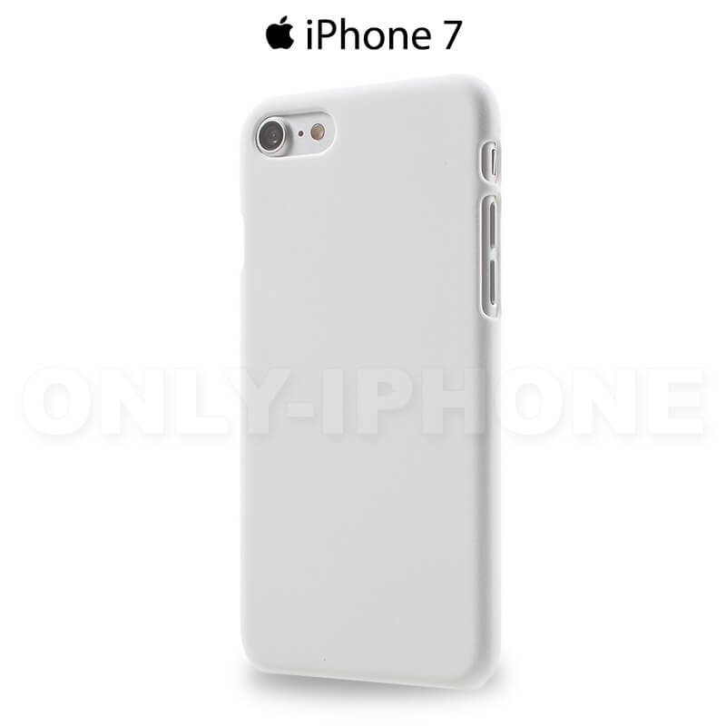 Coque iPhone 7 rigide blanche