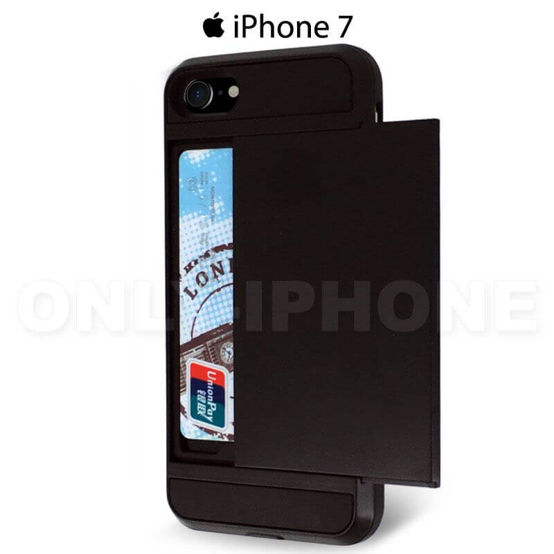 coque pour iPhone 7 porte carte