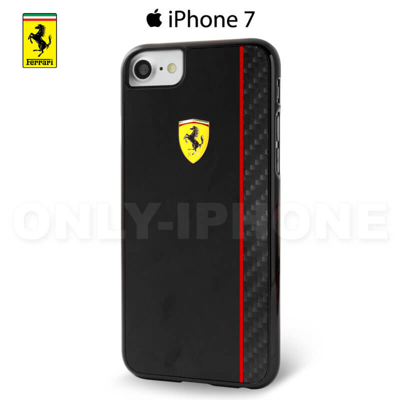 Coque iPhone 7 Scuderia Ferrari Paddock collection noir