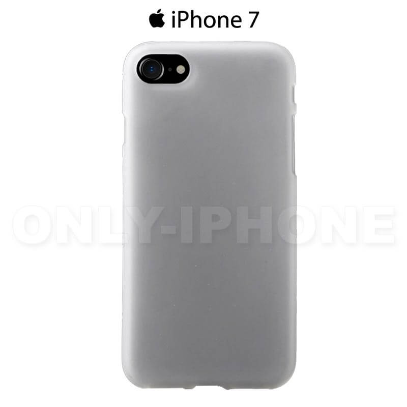 Coque iPhone 7 silicone blanche