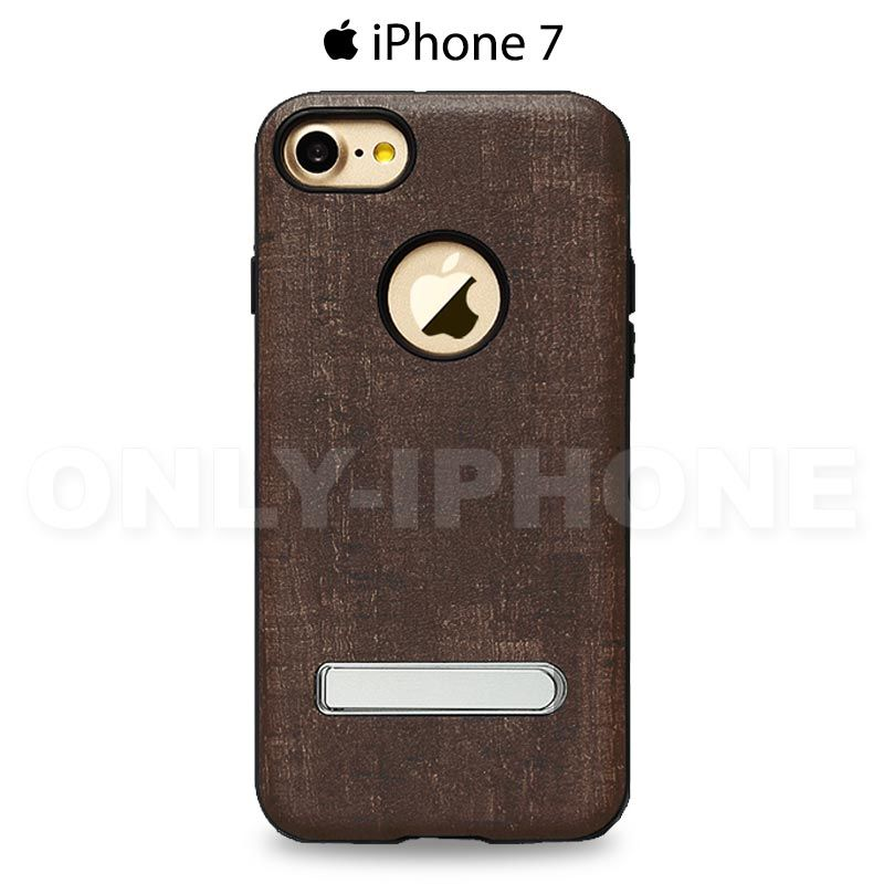 Coque iphone 7 texture naturelle bois only iphone for Interieur iphone 7
