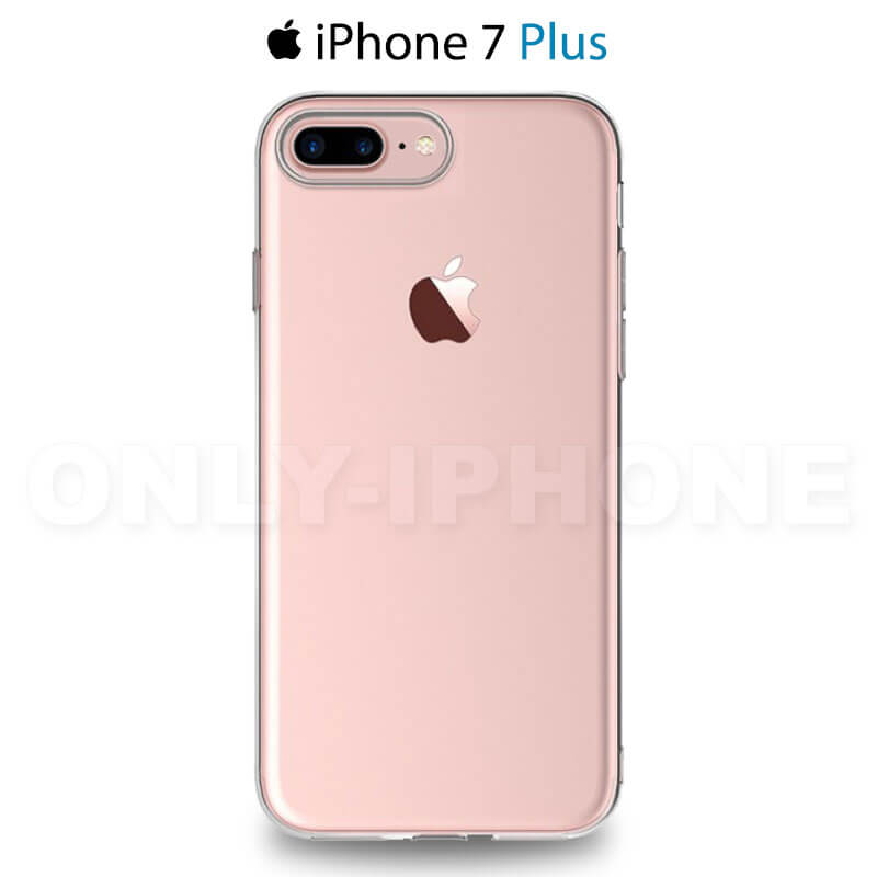 arriere coque iphone 7 plus transparente tpu souple