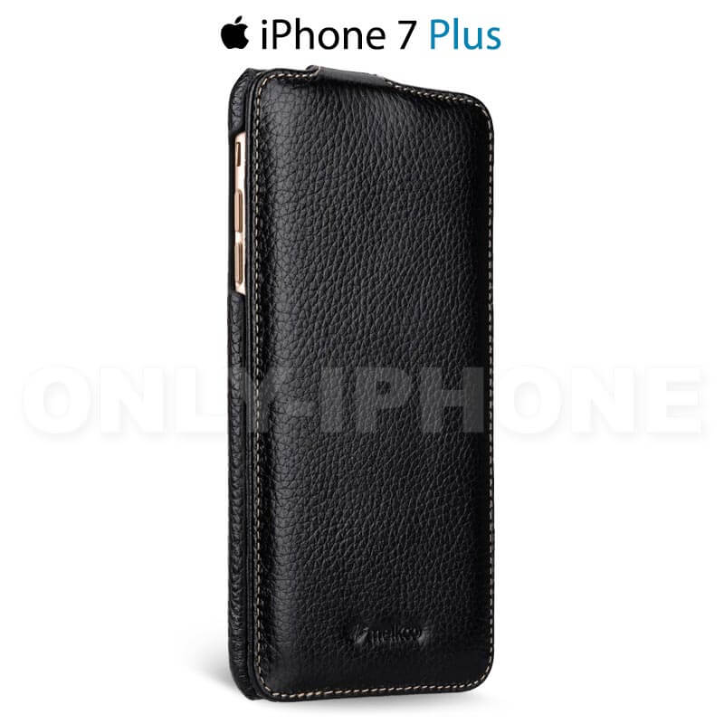 Étui cuir luxe clapet iPhone 7 Plus by Melkco