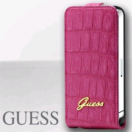 etui iphone 4 guess rose