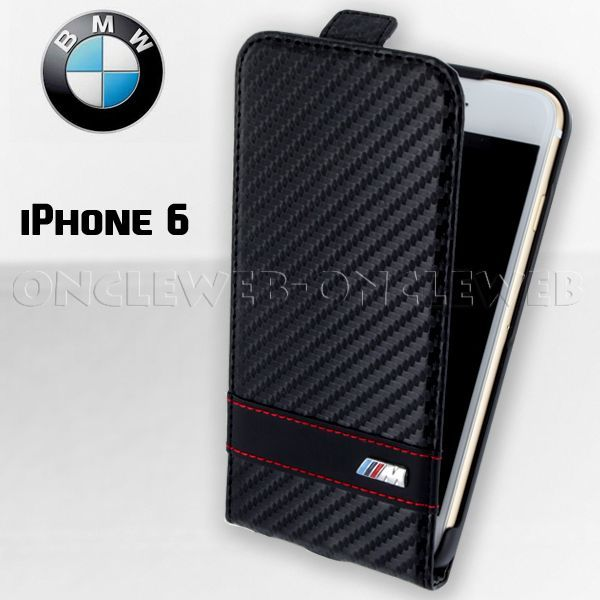 Étui iPhone 6 BMW clapet M collection