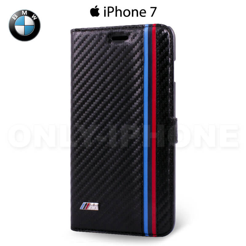 Étui iPhone 7 BMW carbone
