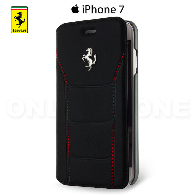 etui iphone 7 ferrari noir collection 488