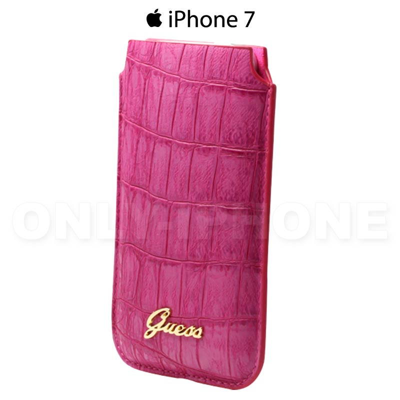 Housse iphone 7 guess croco only iphone for Housse protection iphone 7