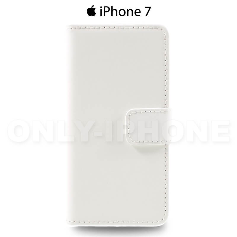 Pochette iPhone 7 portefeuille blanc